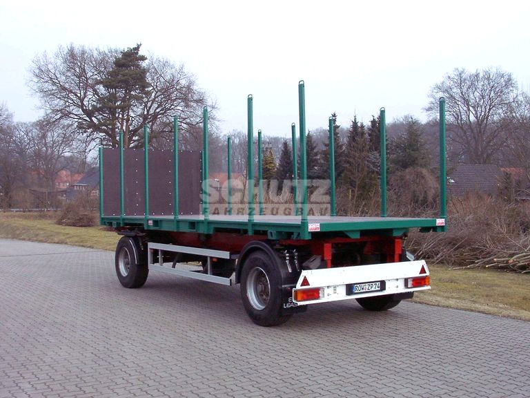 Schutz LKW 2-Achs-Container-Chassis Anhänger Typ LAC 180 W